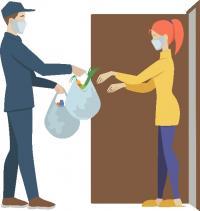 Votre boulangerie vous accompagne : Votre service de livraison à domicile!