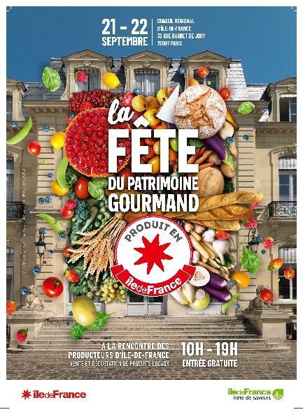 Venez à la Fête du Patrimoine Gourmand : Dégustez des produits d'Ile-de-France!