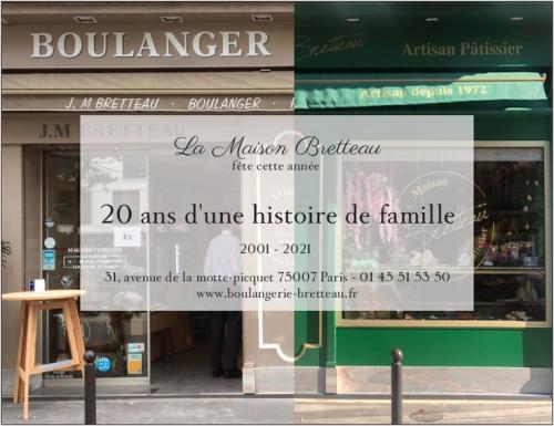 La Boulangerie Bretteau fête ses 20 ans : encore une bonne raison d'être gourmand!