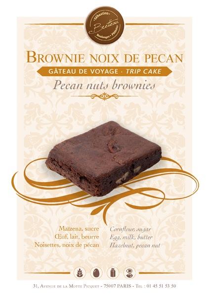 Brownie noix de pecan