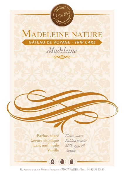 Madeleine nature