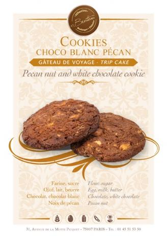 Cookies choco blanc pecan