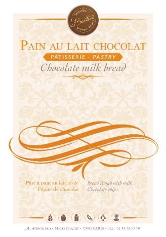 Pain au lait chocolat