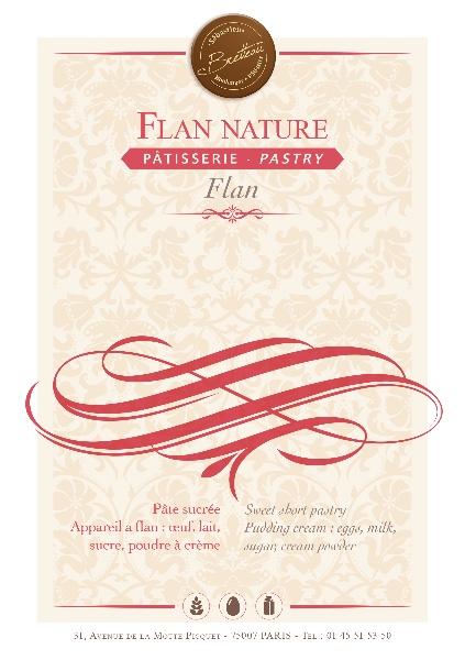 Flan nature