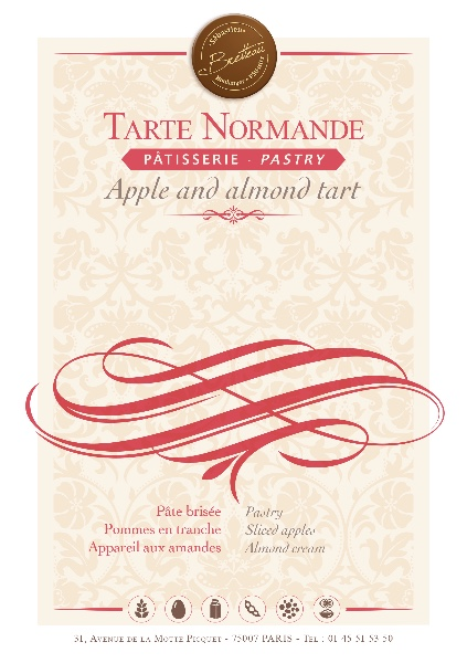 Tarte Normande